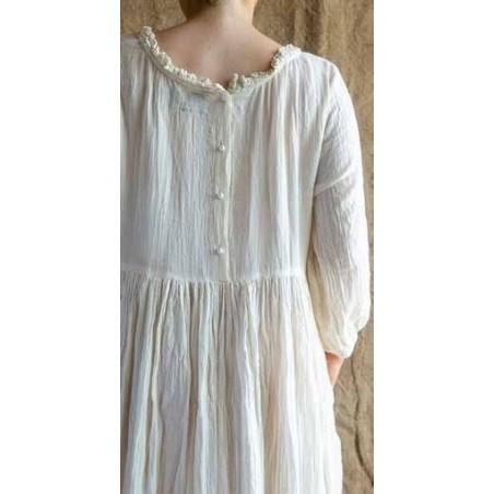 Les Ours dress Clara ecru Moze