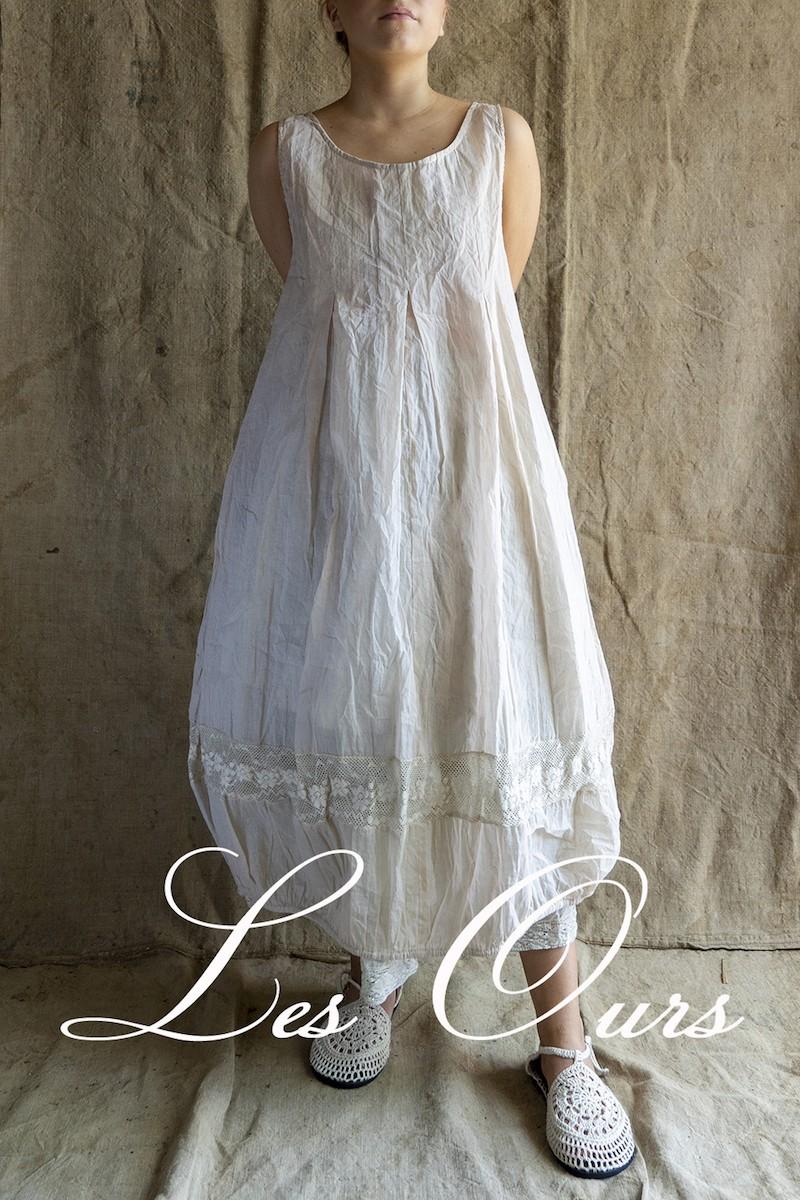 Les Ours Dress Liliane organza pink