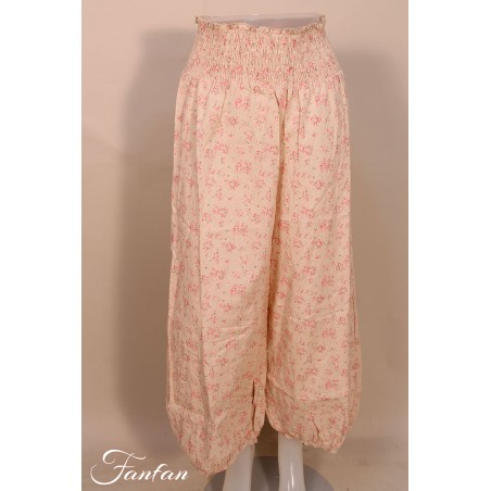 Les Ours Trousers Gus Pink flowers