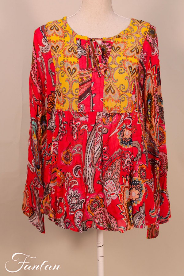 Princess goes Hollywood Tunic boho paradise pink  198-199822