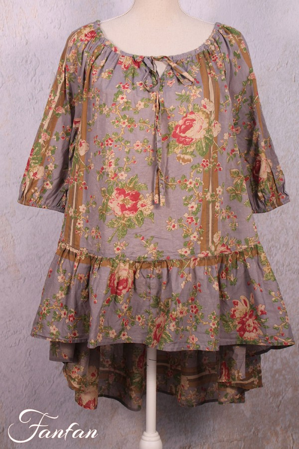 EWA I WALLA FLORAL VOILE AND LACE PEPLUM JACKET SMALL