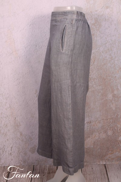 loriginal L /& XL Bleu fonc/é L Style : V Peacock Pantalon de qualit/é en Tissu Naturel M PANASIAM Pantacourt Aladin