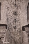 Mara Gibbucci Veste grise en lin 52-73