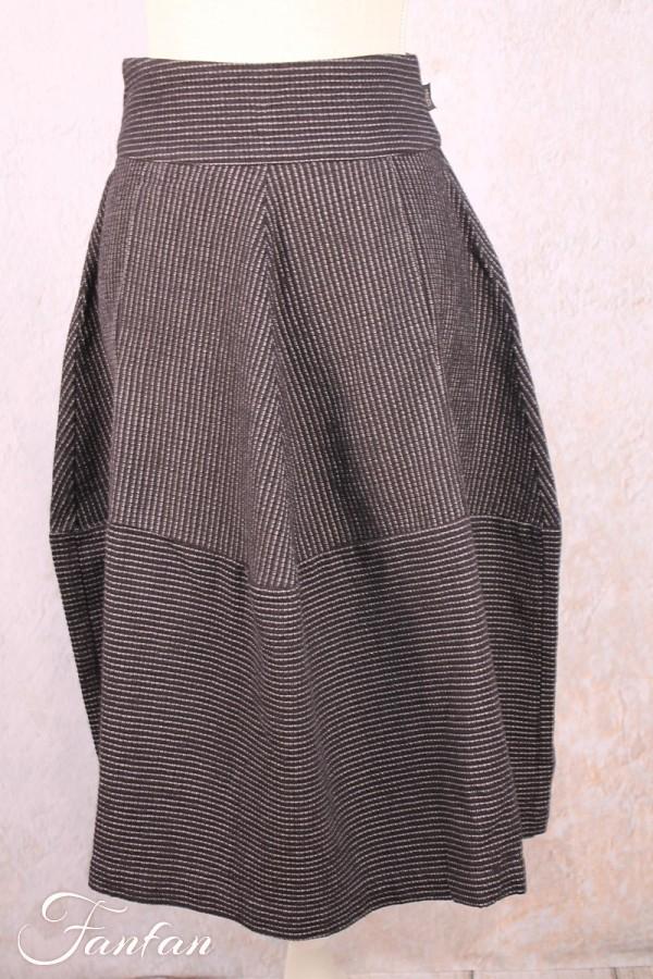 Elemente Clemente Skirt Kalia antracit black