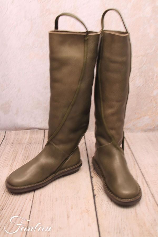 Trippen Boots Fraction grey khaki