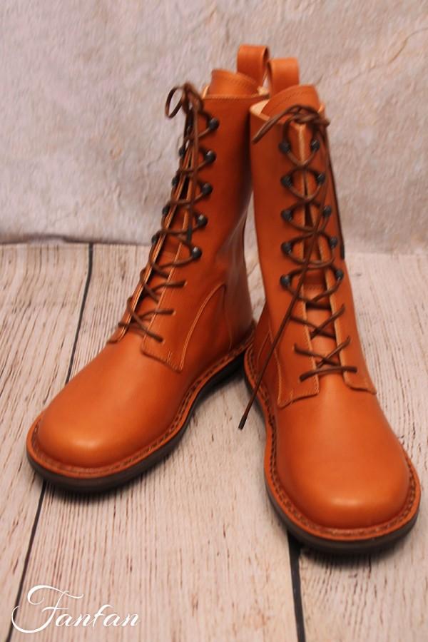 Trippen Boots Concrete Cuoio
