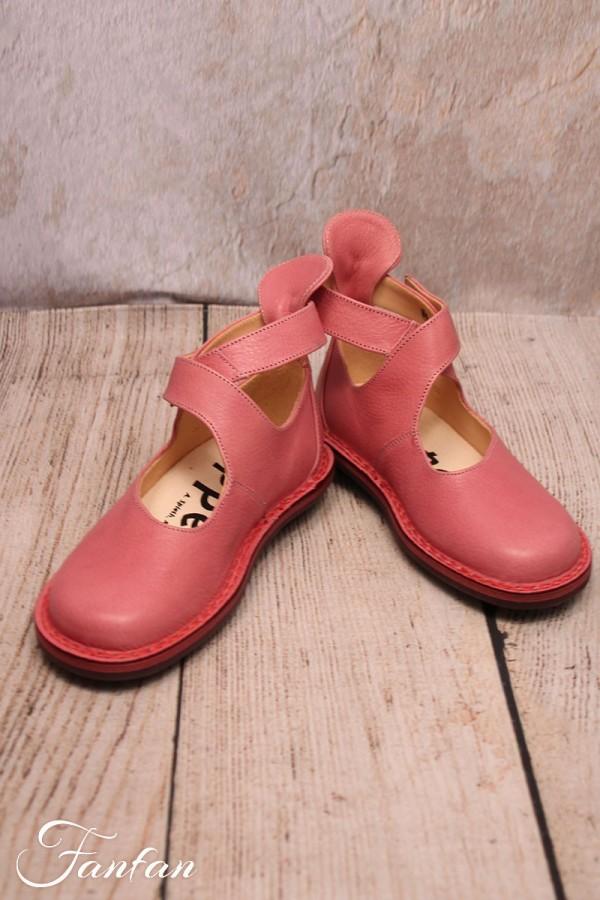 Trippen Vivienne shoes pink flesh